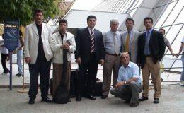 heyet-uskup-havalimaninda-erdogan-sarac-demokratik-turk-partisi-genel-baskani-ve-turkler-tarafindan-karsilandi