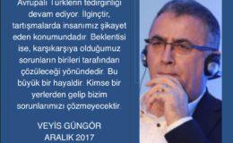 Avrupa Turklerinin tedirginligi