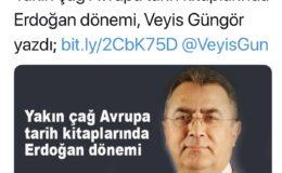 Yakin Cay Avrupasi ve tarih kitaplarinda Erdogan